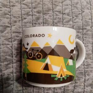 Starbucks COLORADO ceramic mug